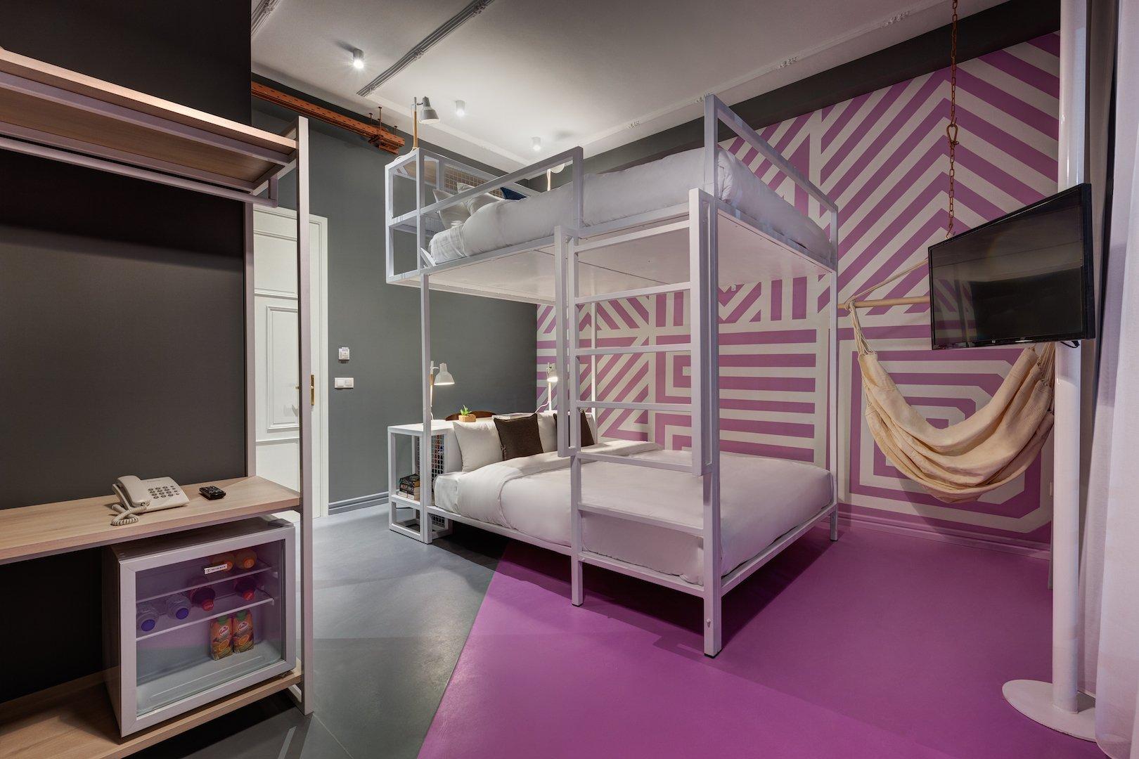 Copy of COLORS Urban Hotel Thessaloniki 22 XL Loft Room