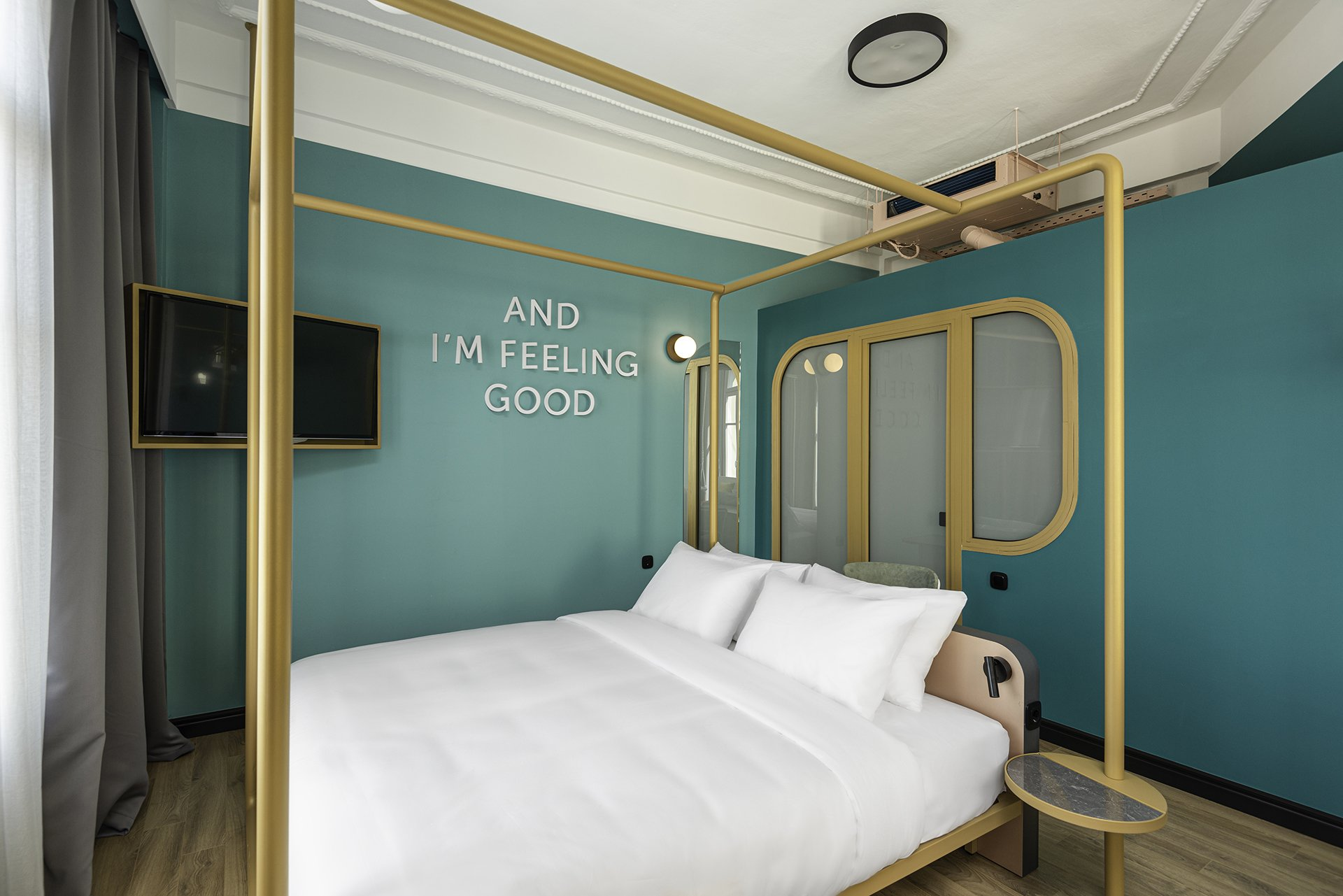 Copy of Colors Agiou Mina Thessaloniki Greece Deluxe Room with a Private Terrace and Jacuzzi 238 Colors 2